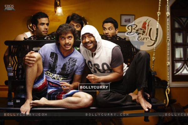 Funny scene from the movie Golmaal 3 (97375)