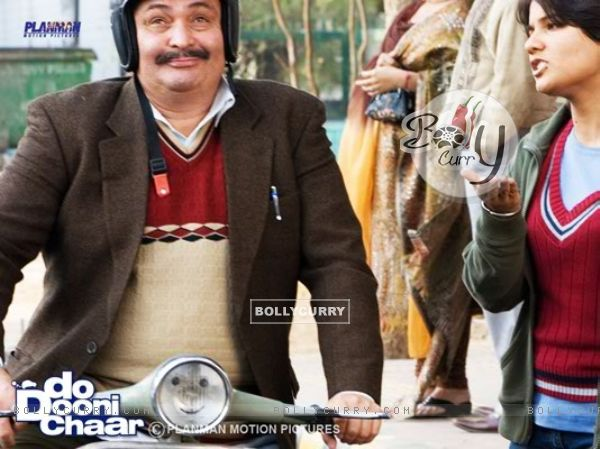 Rishi Kapoor in the movie Do Dooni Chaar