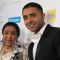 Jay Sean with Asha Bhosle at the asian award 2011