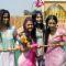 Keerti, Aarti, Pratyusha and Sargun at Rang de Colors Holi event