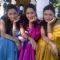 Ankita Lokhande, Priya Marathe and Prarthana Behere