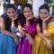 Ankita Lokhande, Priya Marathe and Prarthana Behere