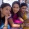 Ankita Lokhande, Priya Marathe and Prarthana Behere During Shooting For Pavitra Rishta