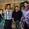 Ankita sharma, Dheeraj kumar, Himesh & Aditya Redij