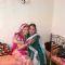 Rishika with her mom