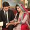 From the sets of zindagi Gulzar Hai