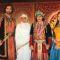 Rajat tokas, Paridhi sharma, Ashwini Kalsekar and Chetan Hansraj in Jodha akbar