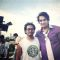 Saurabh Raaj Jain posing on the sets of his upcoming movie 'Chechk in bangkok' in Indonesia.