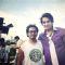 Saurabh Raaj Jain posing on the sets of his upcoming movie 'Chechk in bangkok' in Indonesia.