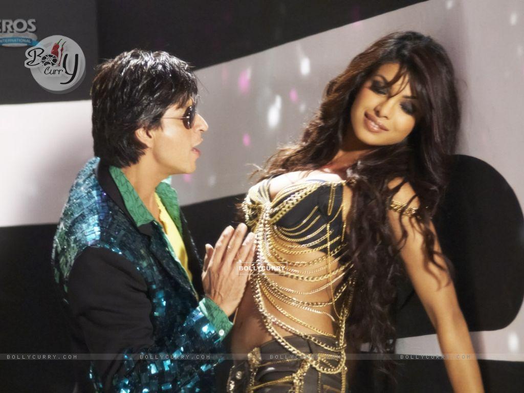 Hot scene of Priyanka and Shahrukh (11132) size:1024x768