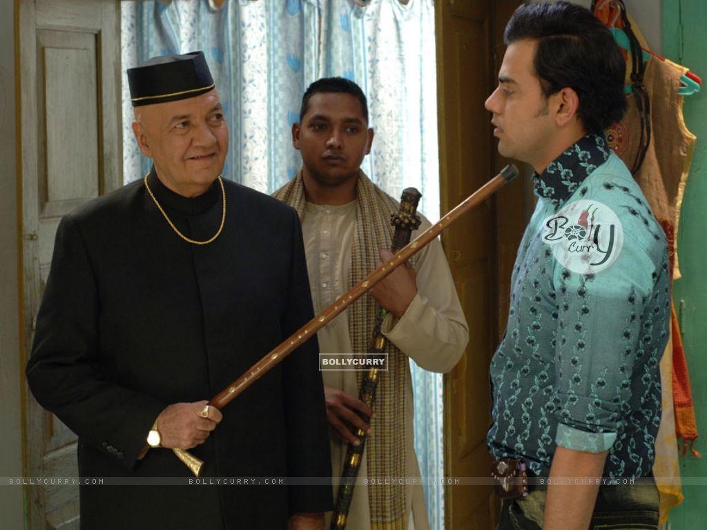 Prem Chopra scolding Cyrus Sahukar (12584) size:1024x768