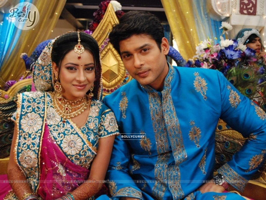 Shiv and Anandi at their Sangeet Ceremony in Balika Vadhu (242933