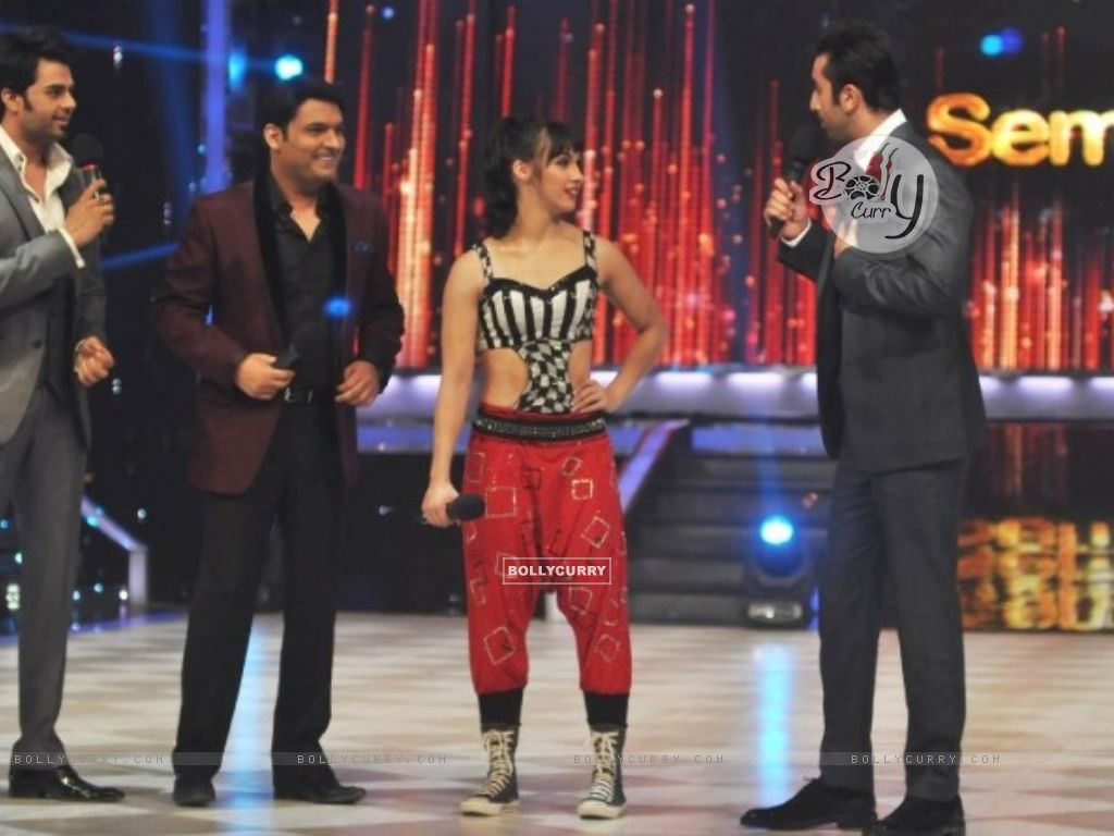 Lauren Gottlieb, Ranbir Kapoor, Kapil Sharma and Manish Paul (295617) size:1024x768