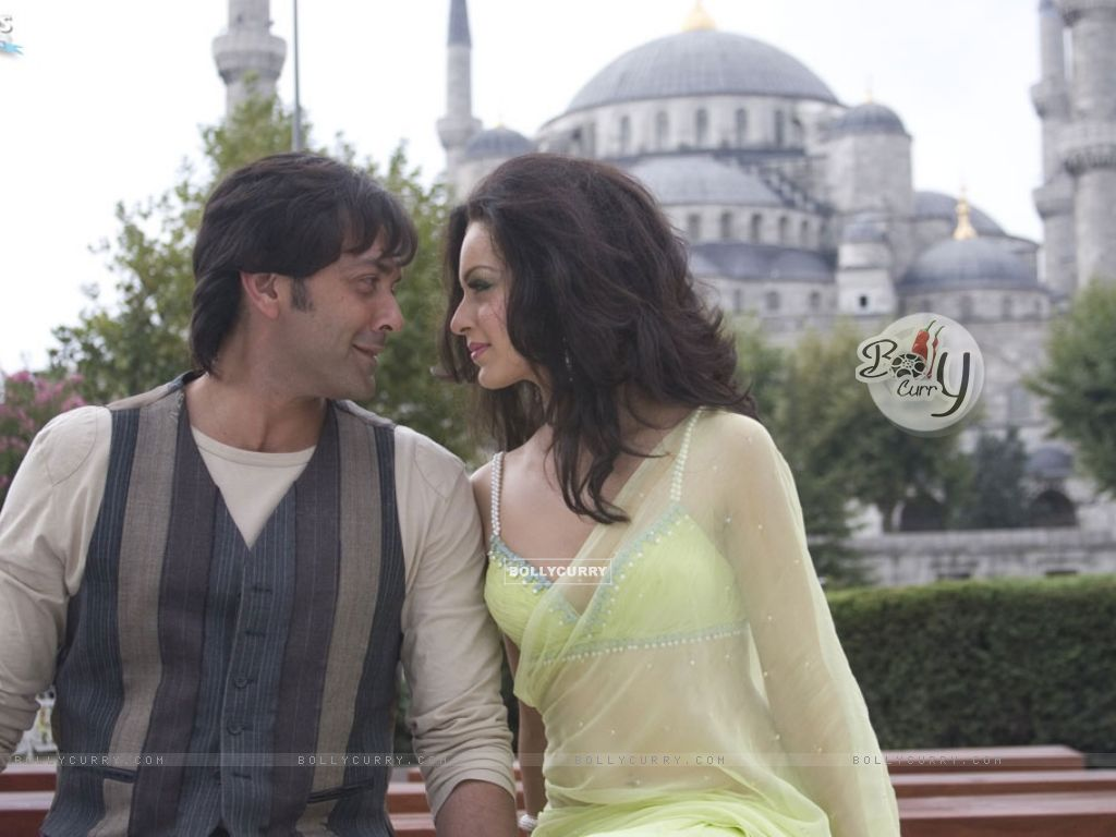 A still image of Bobby Deol and Kangna Ranaut (31476) size:1024x768