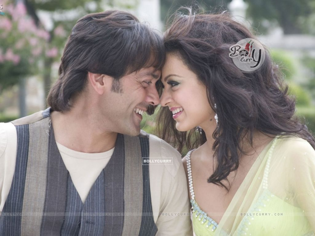 Lovable scene of Bobby and Kangna (31477) size:1024x768
