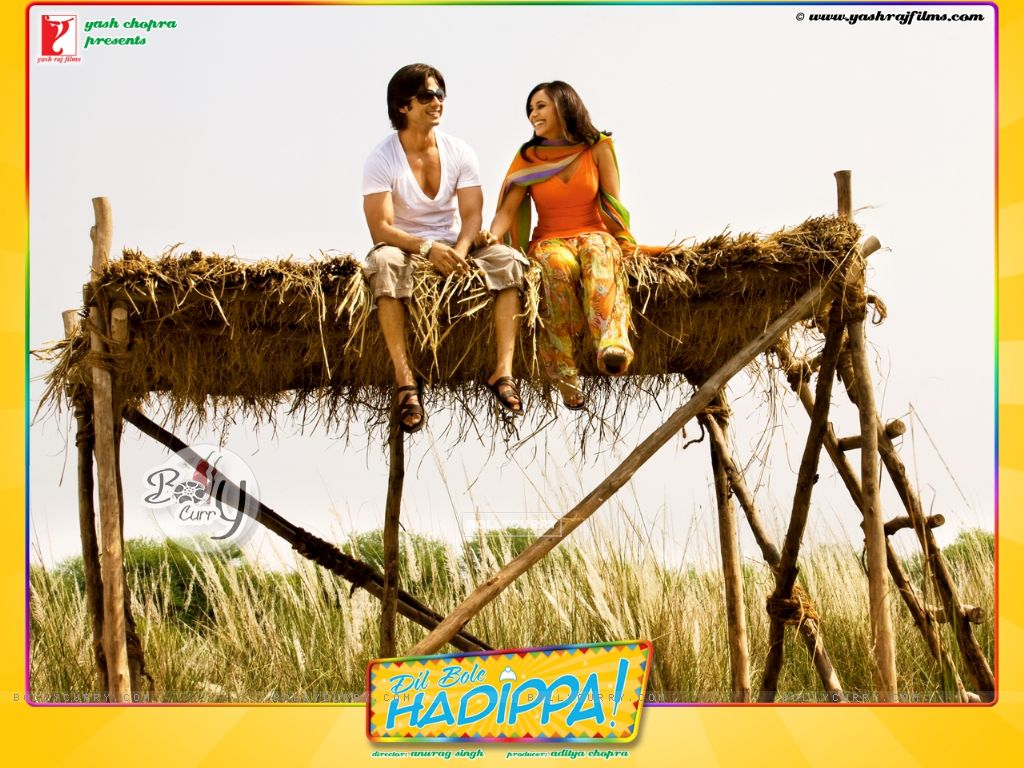 Dil Bole Hadippa movie wallpaper with Shahid and Rani (31956) size:1024x768