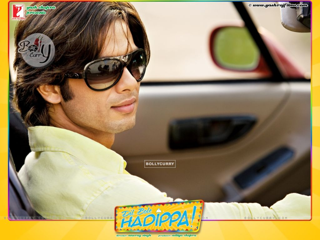 Wallpaper of Shahid Kapoor from the movie Dil Bole Hadippa (31961) size:1024x768