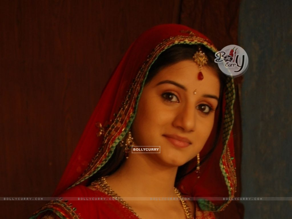 Wallpaper - Anjali Abrol looking gorgeous in red ghagra (33498) size:anjali abrol