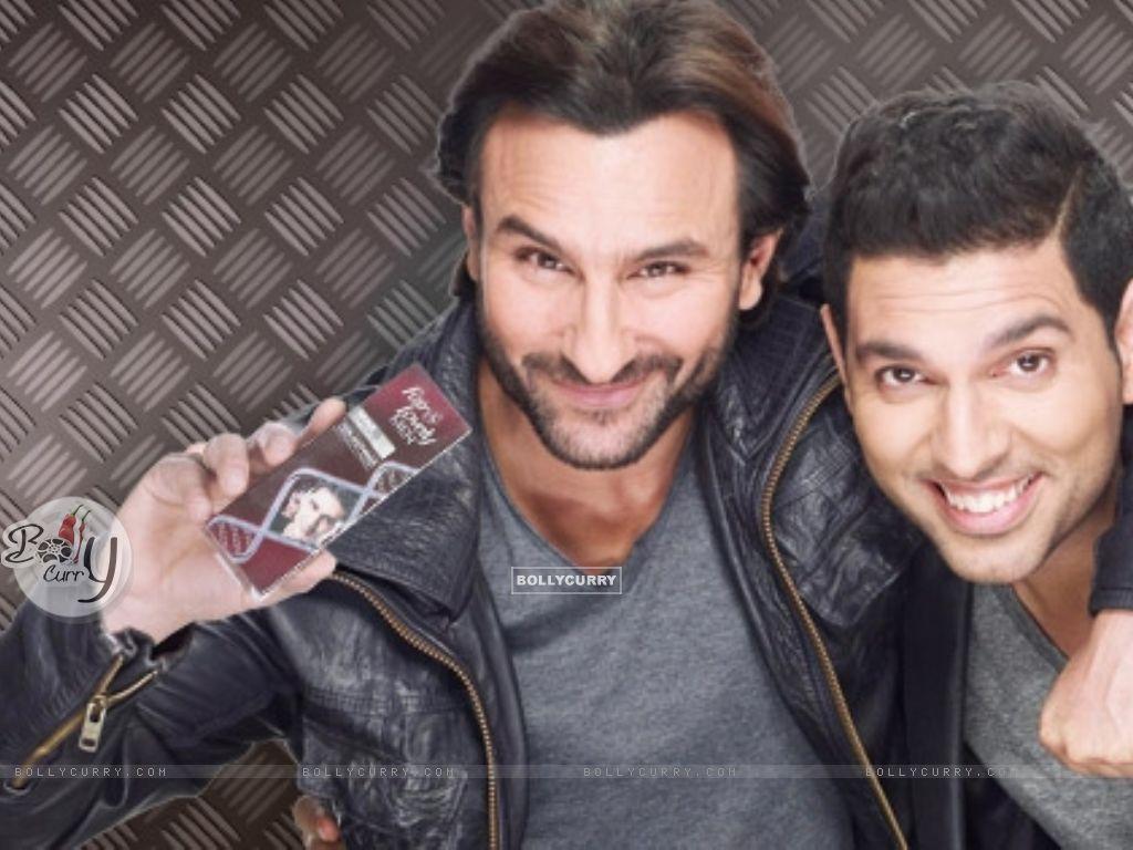 Yuvraj Singh and Saif Ali Khan (344582) size:1024x768