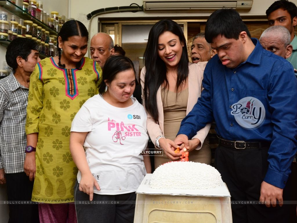 Mishti Chakraborty Cuts her Birthday cake (349215) size:1024x768
