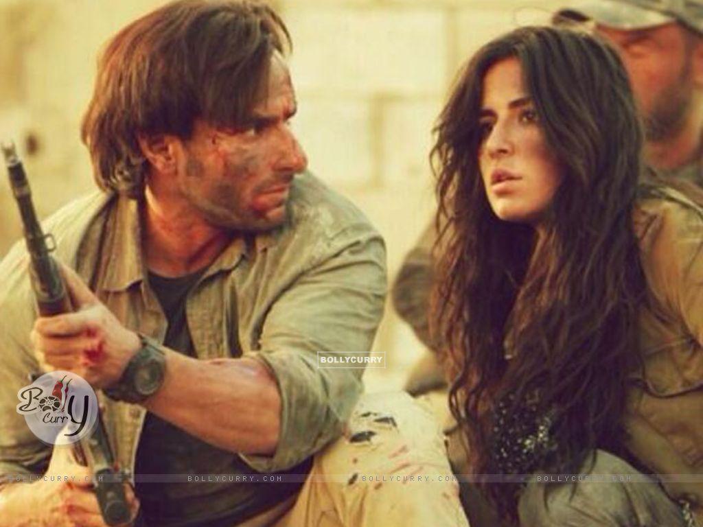 Saif Ali Khan and Katrina Kaif in Phantom (372318) size:1024x768