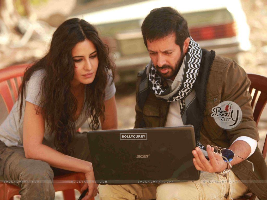 Kabir Khan and Katrina on Sets of Phantom (376121) size:1024x768
