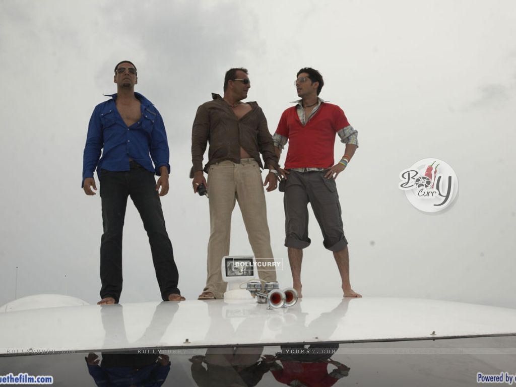 Akshay Kumar, Zayed Khan and Sanjay Dutt (37781) size:1024x768