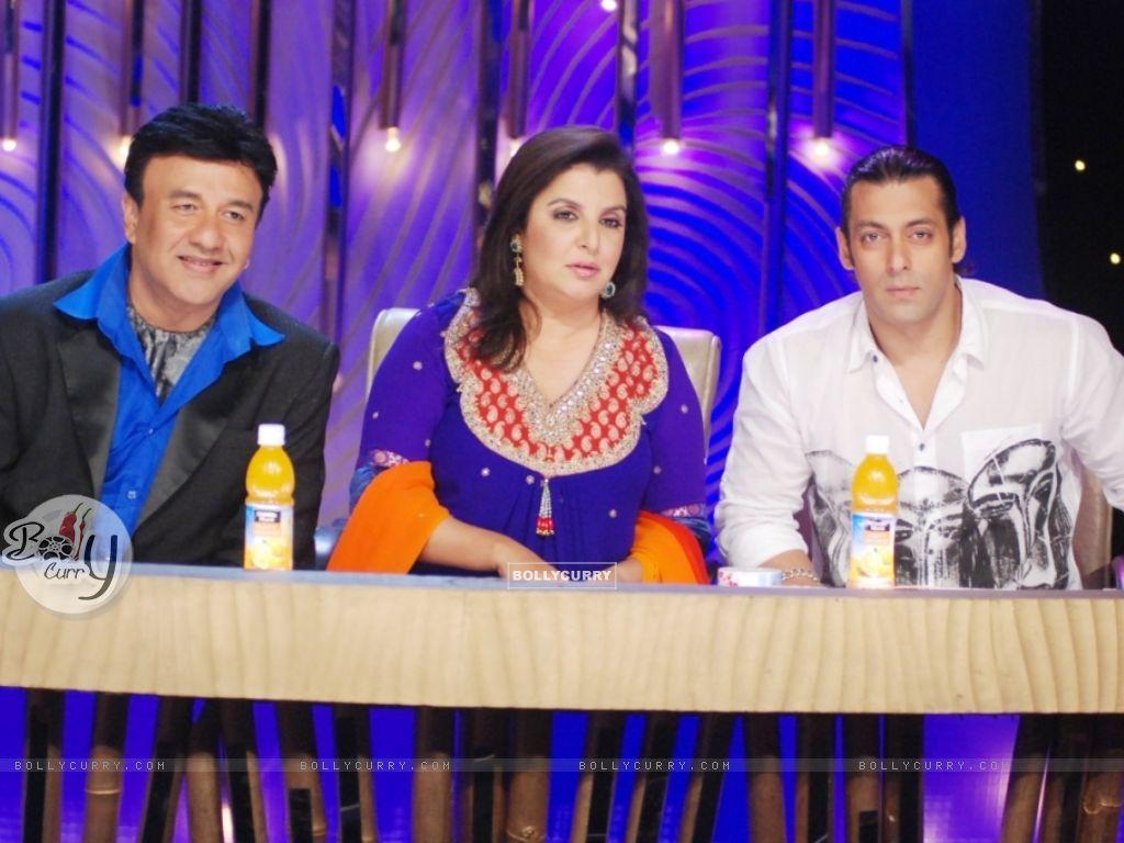 Farah Khan and Anu Malik with Salman Khan (38047) size:1024x768