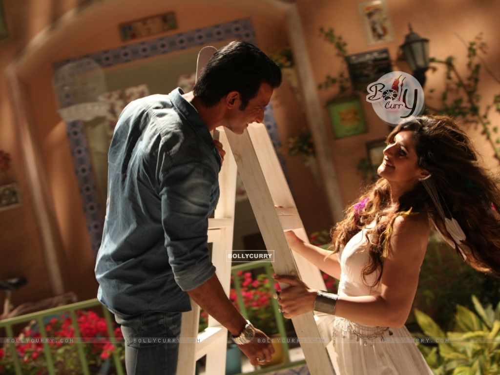 Sharman Joshi and Zarine Khan in First Song of Hate Story 3 (381957) size:1024x768