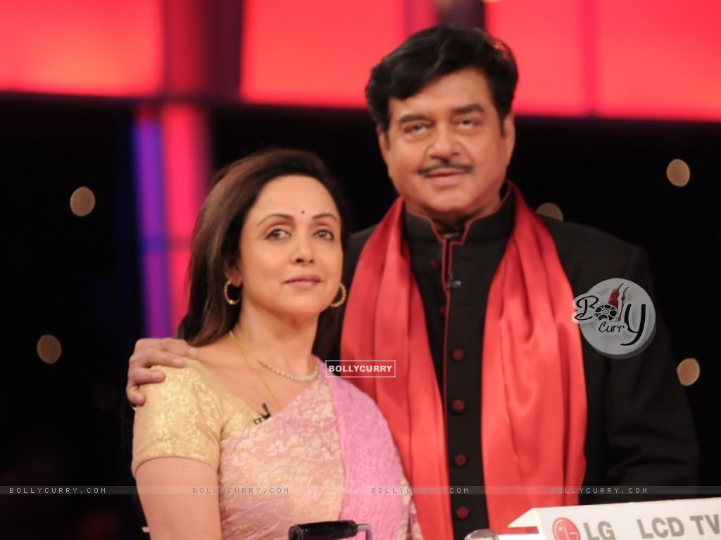 Shatrughan Sinha and Hema Malini (38560) size:1024x768