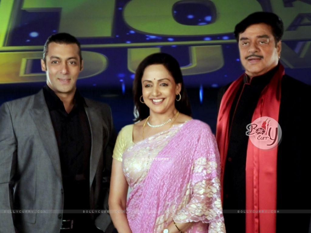 Salman Khan, Hema Malini and Shatrughan Sinha (38564) size:1024x768