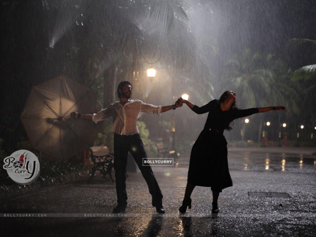 Shah Rukh Khan and Kajol: Rain Dance - A Still from Dilwale (387392) size:1024x768