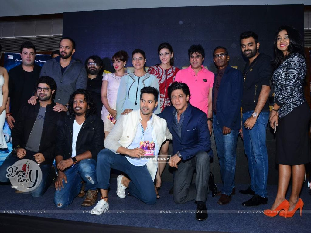 Whole Cast of Dilwale at Launch of 'Tukur Tukur' Song (387903) size:1024x768