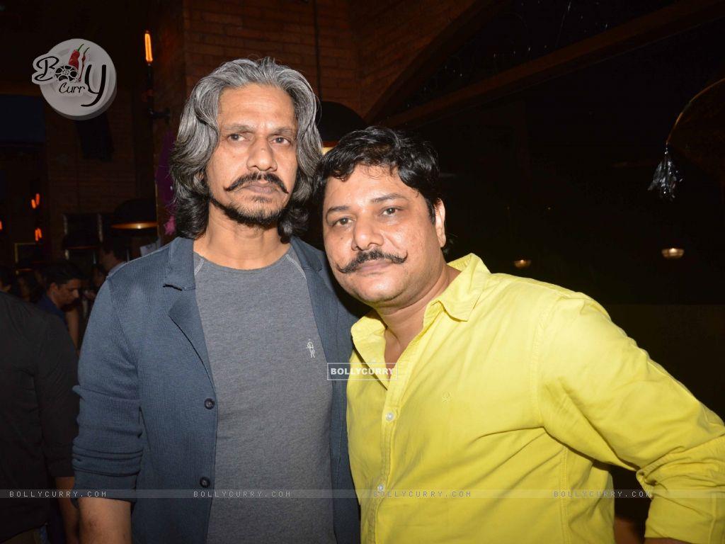 Vijay Raaz and Ravi Gossain Celebrates Lohri at The PUMP Room Beer Factory (391465) size:1024x768