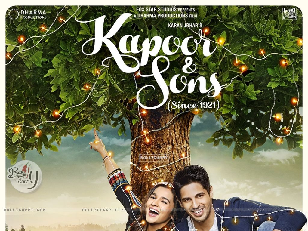 Kapoor & Sons Second Poster (394324) size:1024x768