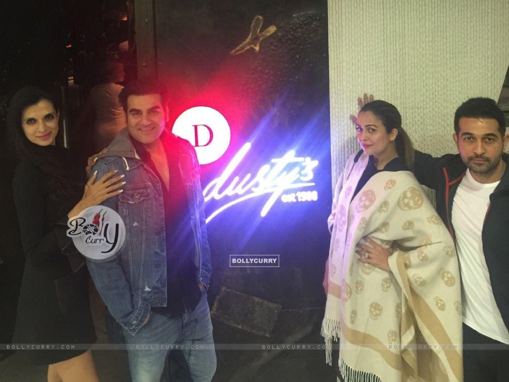 Arbaaz Khan and Amrita Arora at Rekha Tourani's Dusty's Dubai (394422) size:1024x768