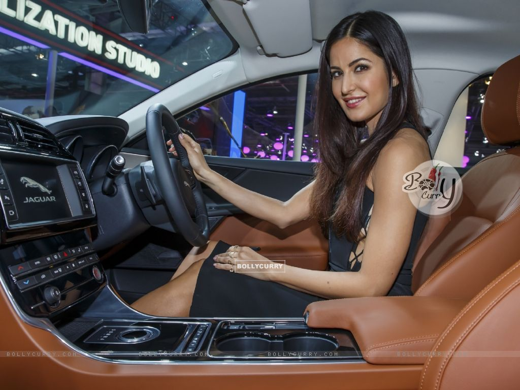 Katrina Kaif at Jaguar's Launch at Auto Expo 2016 (394423) size:1024x768
