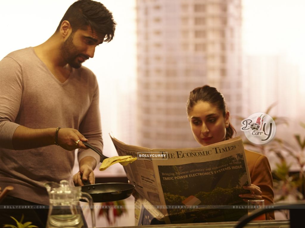 Arjun Kapoor cooks food for Kareena in Ki And Ka (397427) size:1024x768