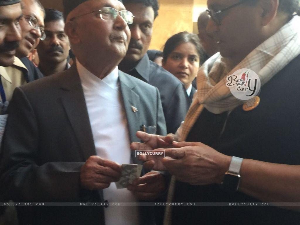 Subhash Ghai meets Nepal Prime Minister (397941) size:1024x768