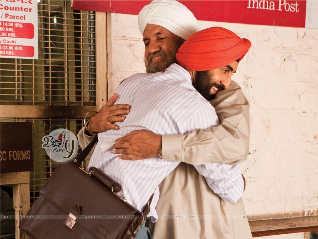 Ranbir Kapoor hugging Prem Chopra (40090) size:1024x768