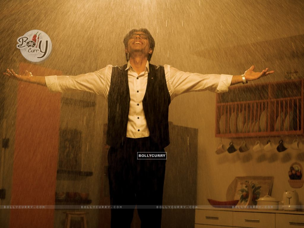 Uday Chopra enjoying rain (40380) size:1024x768