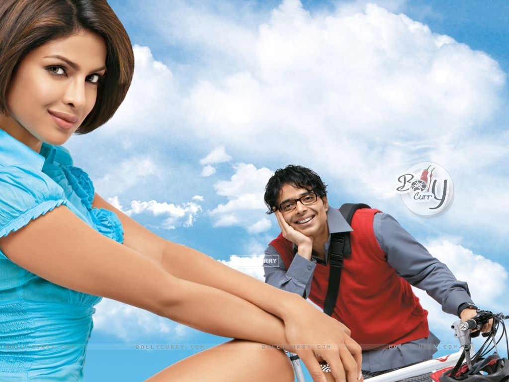 Uday and Priyanka Chopra in the movie Pyaar Impossible (40402) size:1024x768
