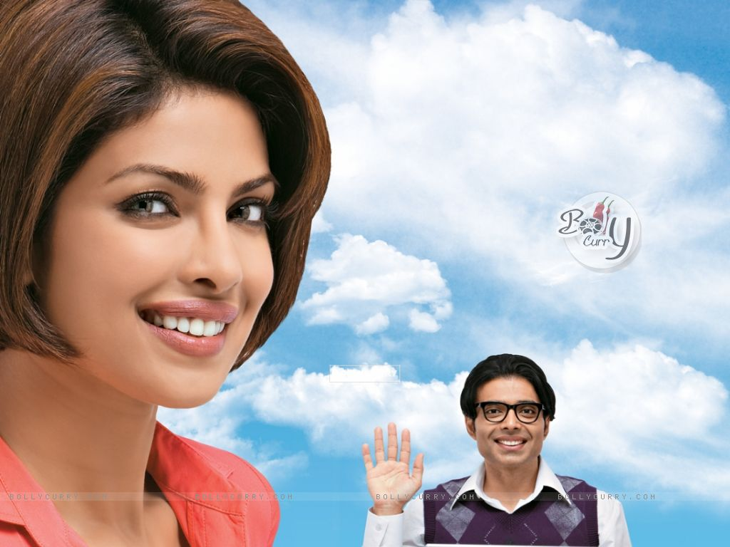 Priyanka and Uday in the movie Pyaar Impossible (40404) size:1024x768