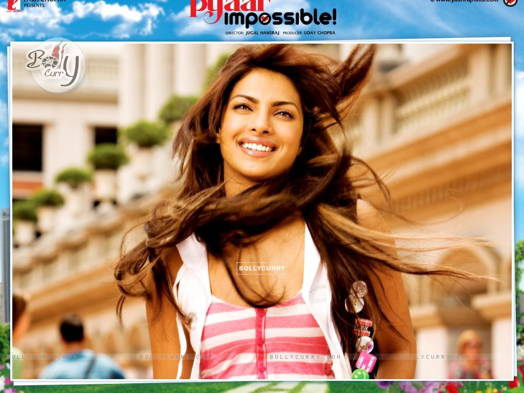 Wallpaper of Pyaar Impossible movie with Priyanka (40419) size:1024x768