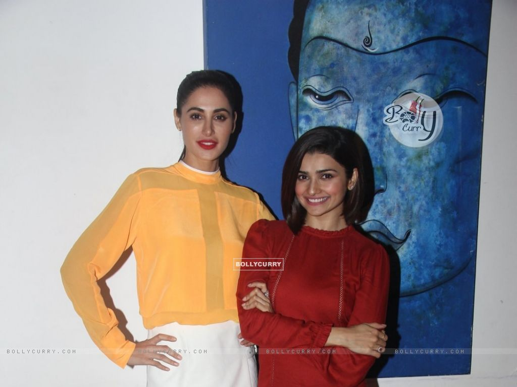 Prachi Desai and Nargis Fakhri at Media Interactions of Azhar (404471) size:1024x768