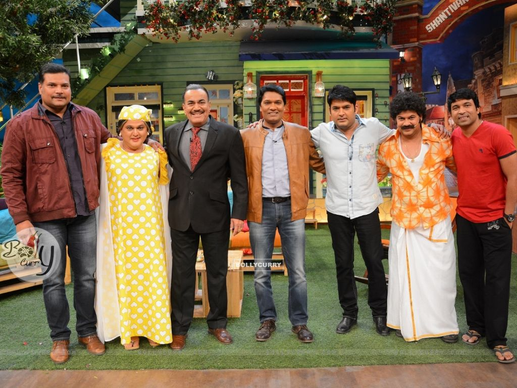 CID Serial Cast at The Kapil Sharma Show (406895) size:1024x768
