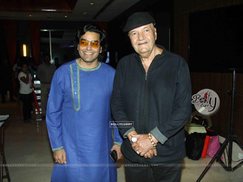 Ashutosh Rana & Prem Chopra at Launch of film 'Jeena Isi Ka Naam Hai of film 'Jeena Isi Ka Naam Hai' (409826) size:1024x768