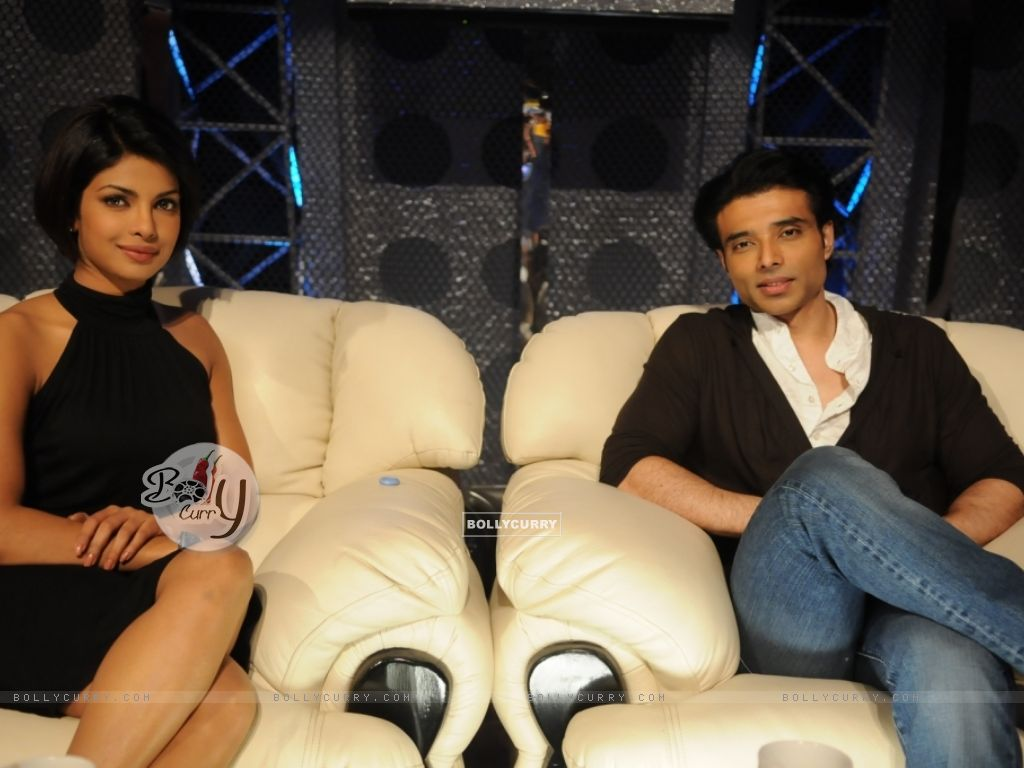 Uday and Priyanka Chopra in Dance Premier League show ...