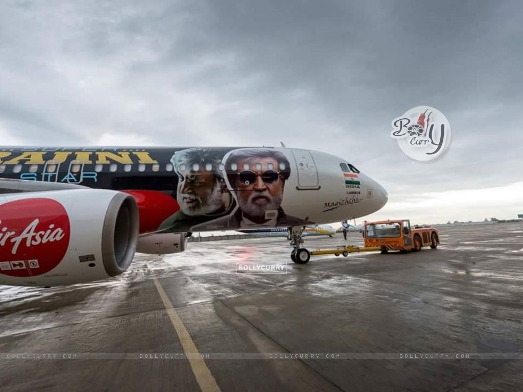 Kabali's unique style of promotion- Air Aisa promotes 'Kabali' (410991) size:1024x768