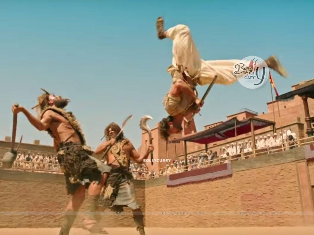 Hrithik Roshan's Raw Action in Mohenjo Daro (411768) size:1024x768